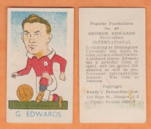 Wales George Edwards Birmingham City